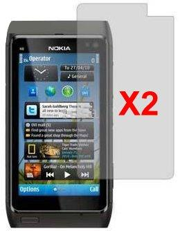 Screen Protector for Nokia N8-00, 2pack