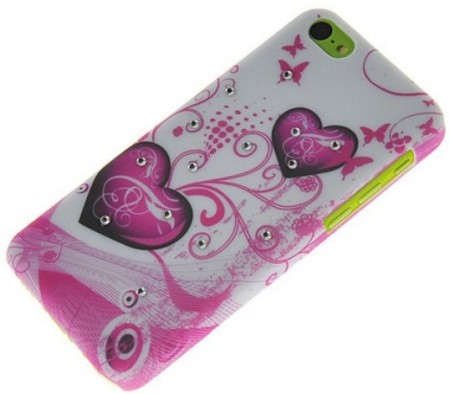 Bling Hard Back Case for Apple iPhone 5c, *Diamond*