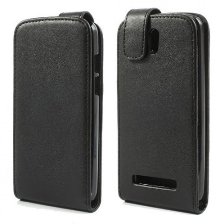 Flip PU Leather Case for HTC Desire 500,Black