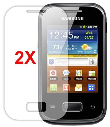Screen Protector for Samsung Galaxy Pocket Plus, 2pack