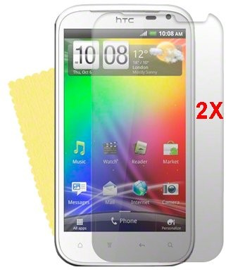 Screen Protector for HTC Sensation XL, 2pack