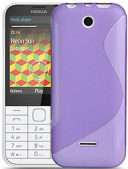 Flexi Shield Skin Nokia 225, *S-line*,Purple