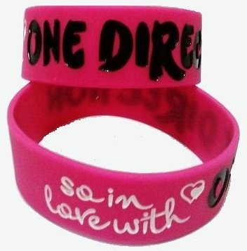 Wristband *One Direction*, Pink