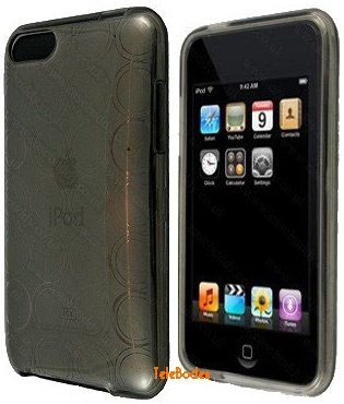 Flexi Shield Skin for Apple iPod Touch 2&3, *Circle*