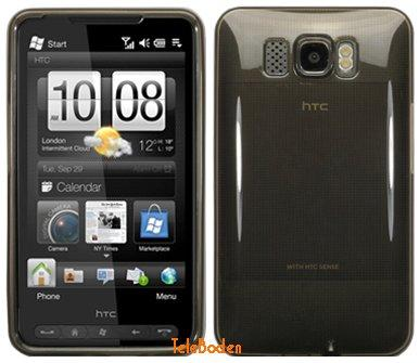 Flexi Shield Skin for HTC HD2 (Leo), Black