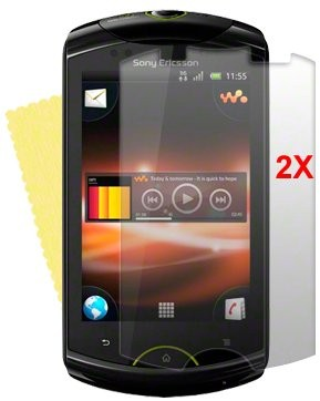Screen Protector Sony Eric. Xperia™ Live, 2pack