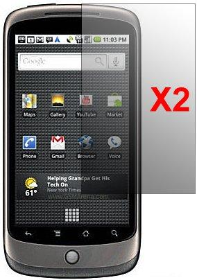 Screen Protector for Google Nexus One, 2pack