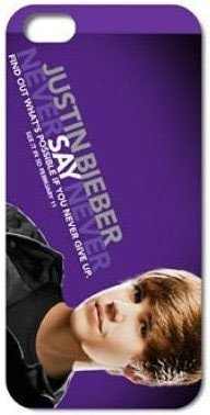 Hard Back Case for Apple iPhone SE/5/5s, *Justin Bieber*, #1