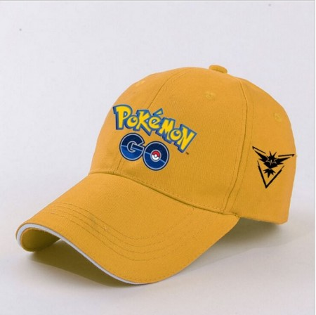 Baseball Caps Pokémon GO ¨Team Instinct¨,Yellow