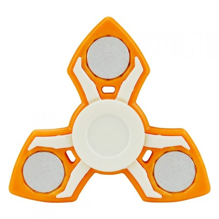 Fidget Spinner ¨Ninja Stars¨, Orange