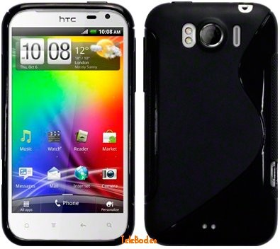 Flexi Shield Skin for HTC Sensaton XL, *S-line*
