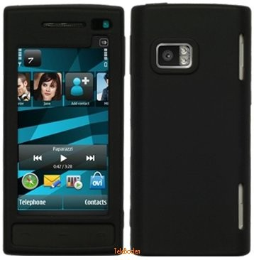 Silicon Skin Case for Nokia X6-00, *Matt*