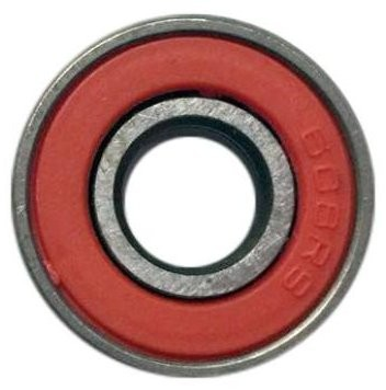 Shaft Bearing for Fidget Spinner, Red