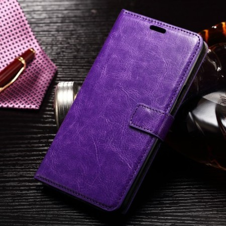 Wallet PU Leather Case for Samsung Galaxy Note 7, Purple