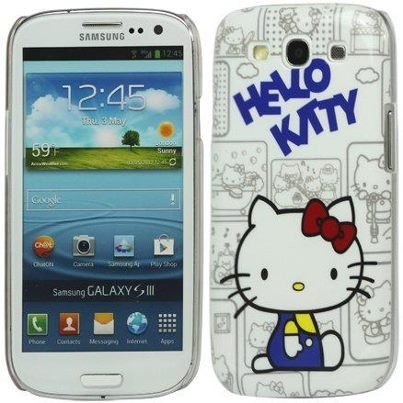 Hard Back Case Samsung Galaxy S III, *Hello Kitty*, Normal Day