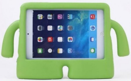Anti Shock Protection Case, Apple iPad Mini 1/2/3/4, *iBuddy*, Green