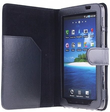 Booklet PU case for Samsung Galaxy Tab 7.0 (P1000)