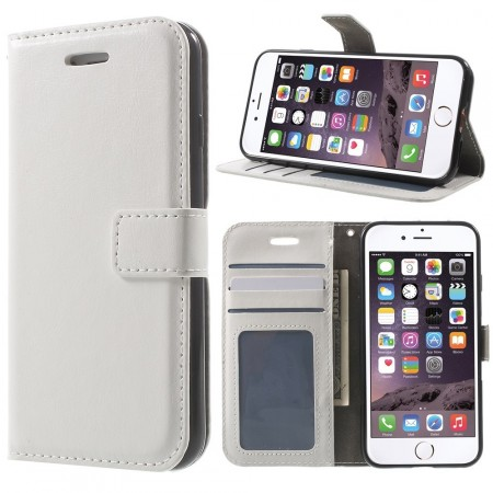 Wallet PU Leather Case for Apple iPhone 7, White
