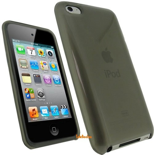 Flexi Shield Skin for Apple iPod Touch 4, *Frosted*