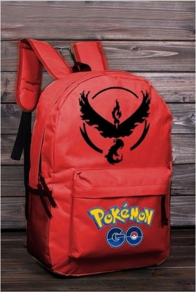 Ryggsekk Pokémon GO ¨Team Valor¨,Red